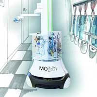 Intelligent robots for targeted combating of viruses and bacteria