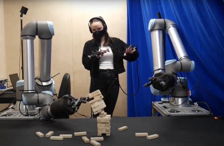 Video Friday: Shadow Plays Jenga, and More