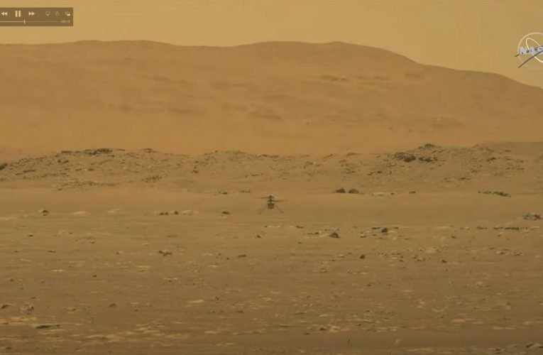 Watch: Ingenuity Helicopter completes historic first flight on Mars