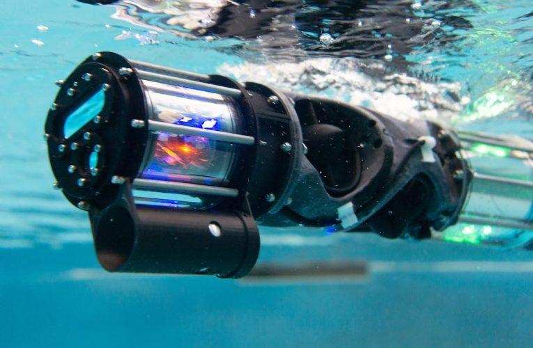CMU's snake robot can now swim underwater
