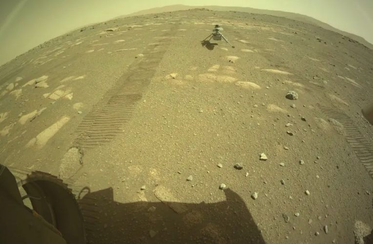 Ingenuity Helicopter touched down on Mars