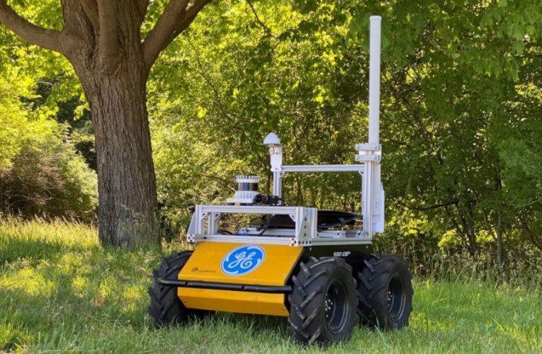 Watch GE's risk-aware autonomous robot navigate through woods