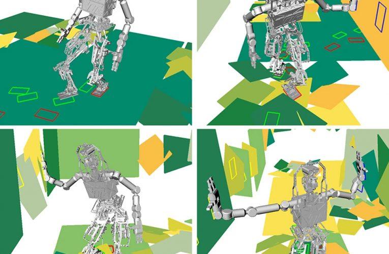 Rubble-roving robots use hands and feet to navigate treacherous terrain