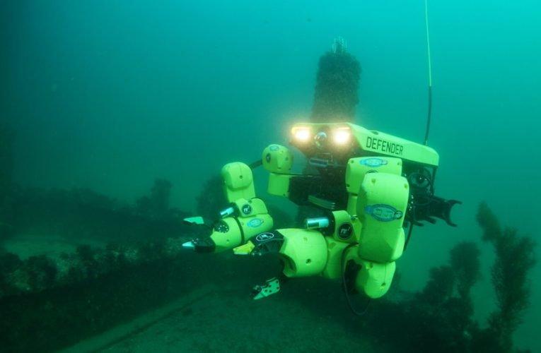 RE2 Robotics developing underwater mine neutralization system