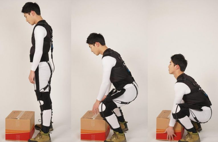 Exosuit That Helps With the Heavy Lifting