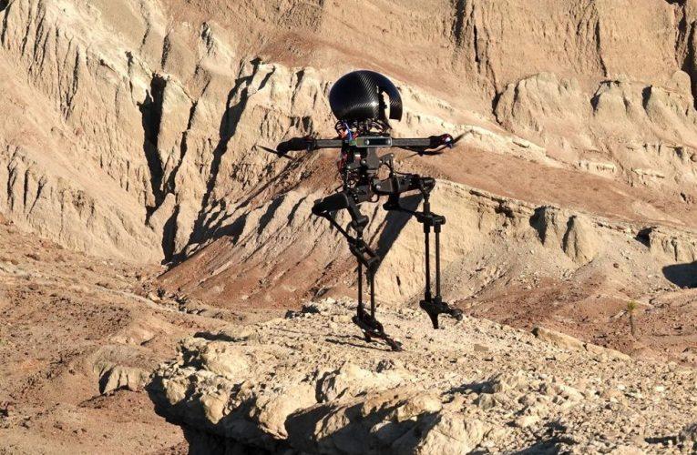 Caltech's LEO Flying Biped Can Skateboard and Slackline
